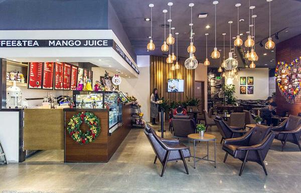 咖啡馆店面设计