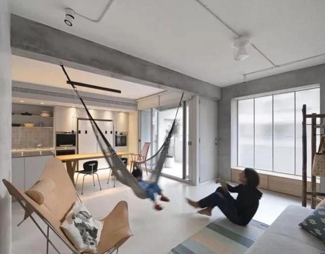 客厅工业风装修效果图