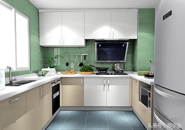 厨房台面颜色装修效果图:厨房台面哪种颜色好?