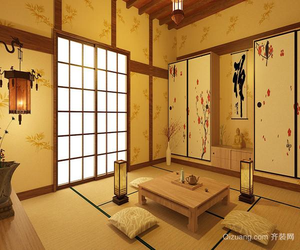 3、美观舒适可储物 日式榻榻米一般凉席的功用,既美观又舒适,其储物功能也是很大的一个特色。在一般的家庭的日式榻榻米相当于是一件多功能家具,想睡觉时可当作是床,接客时又可是个客厅。在日式榻榻米上交流更易接近,更能促进人与人的亲近之感。