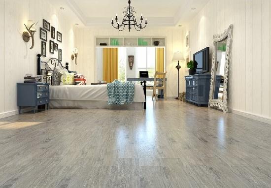 客厅铺仿木纹地砖好吗