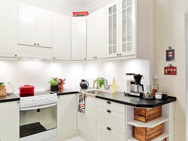 厨房L型橱柜