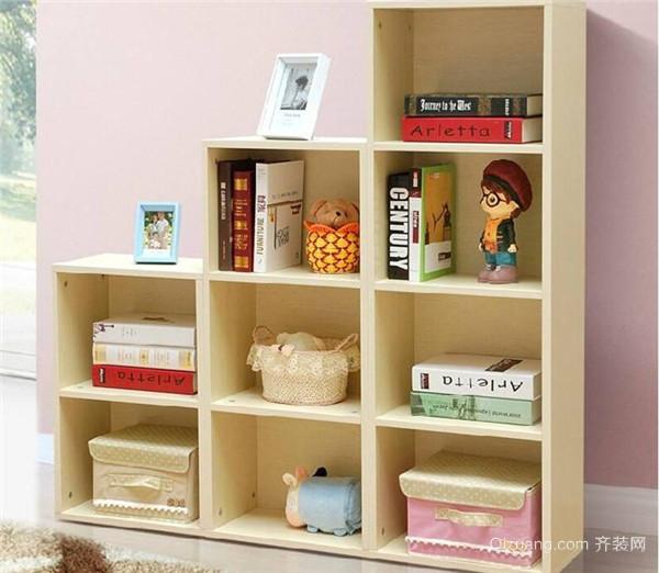 儿童书柜常见设计 有哪些种类和材质呢