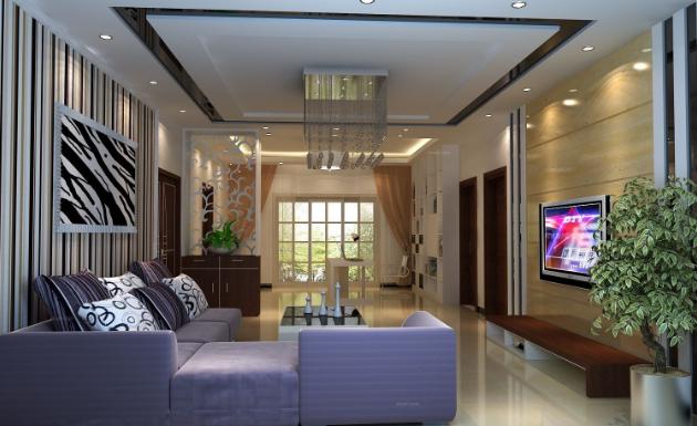 客厅装修成欧式客厅
