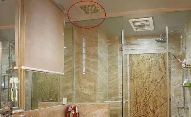 卫生间吊顶要预留排气孔