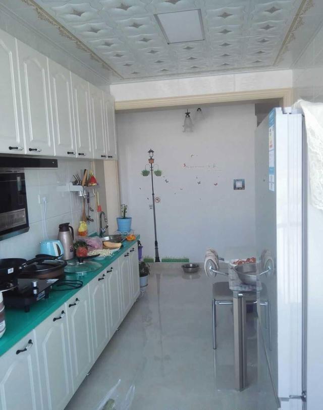一字型的厨房