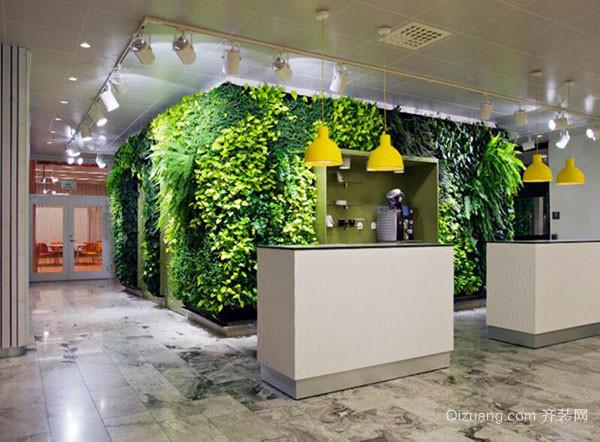 室内植物墙