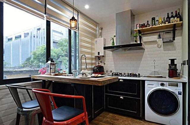 家里空间面积小可以把阳台装修成厨房吗