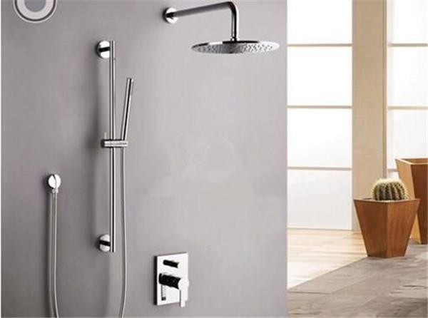 淋浴花洒安装效果图