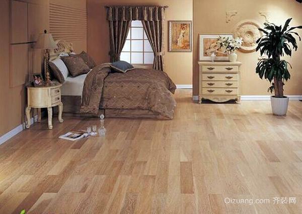 房屋装修地暖地板选材