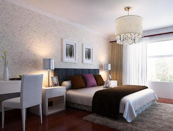 挑选简约卧室壁纸方法