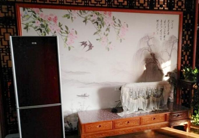 中式风格的电视背景墙