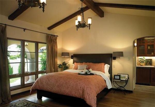 卧室灯具选购效果图