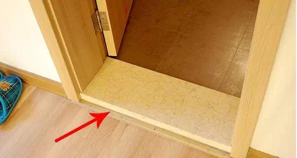 新屋装修为什么要装过门石?