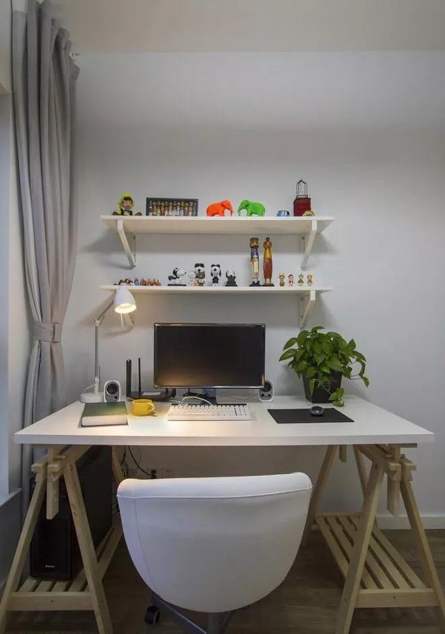 超适合小户型的书桌设计,有个这样的角落,家就完美了!