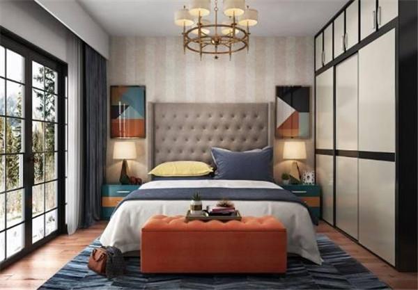 卧室落地窗设计效果图