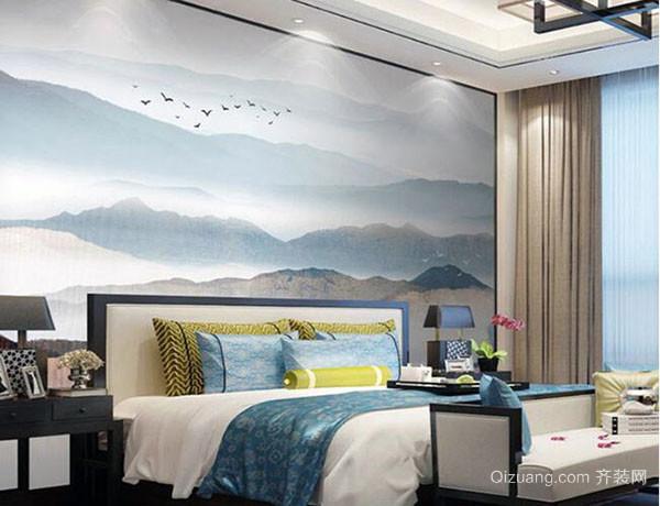 卧室适用墙纸装修建议