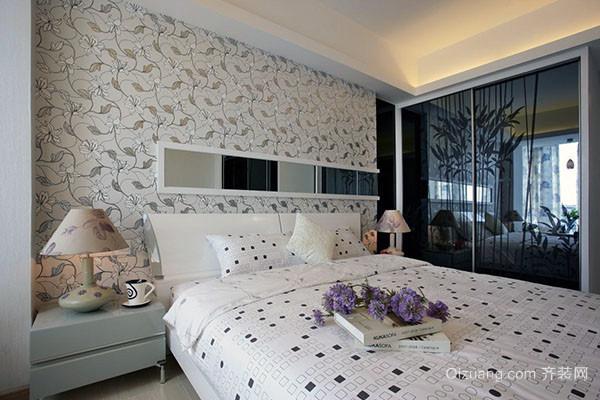 卧室适合贴墙纸吗