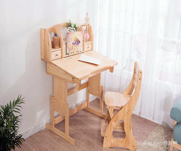 儿童书桌高度