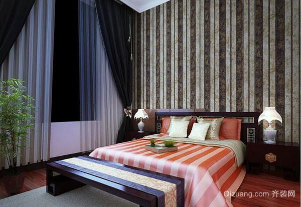 卧室墙纸装修