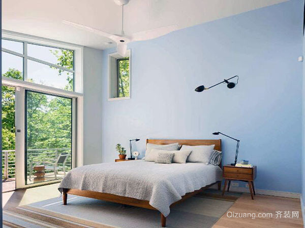 卧室墙纸颜色装修建议