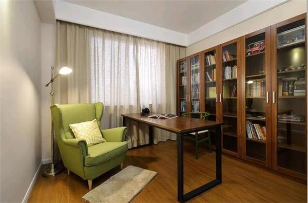 现代简约四居室,玄关设计真美!
