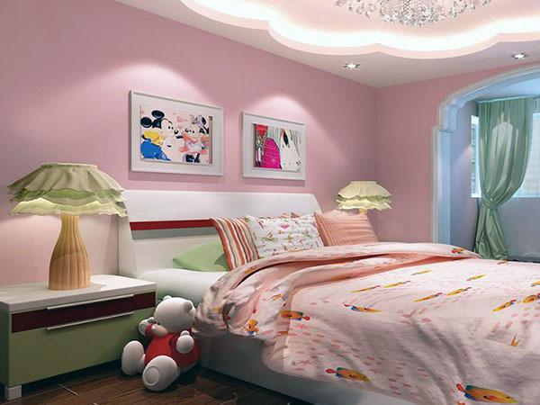 卧室墙纸合理搭配