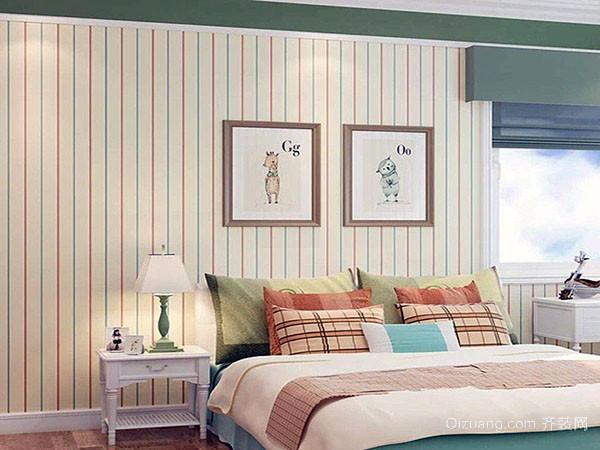 卧室墙纸用什么颜色舒服