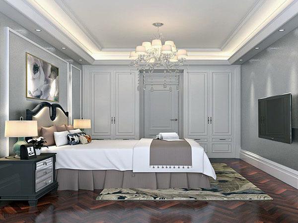 卧室墙纸颜色