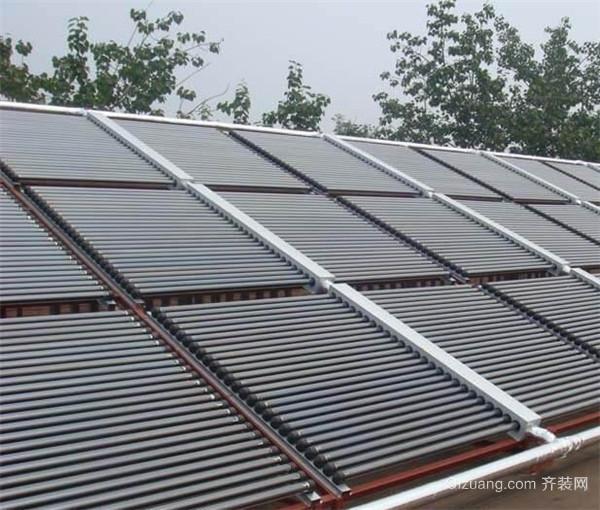 太阳能热水器改装暖气