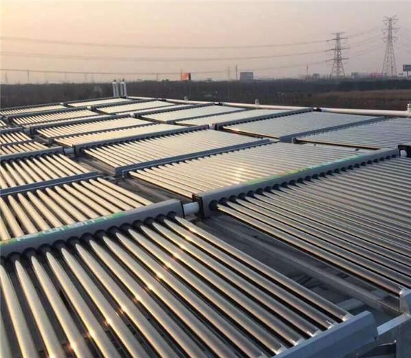 农村自制太阳能取暖