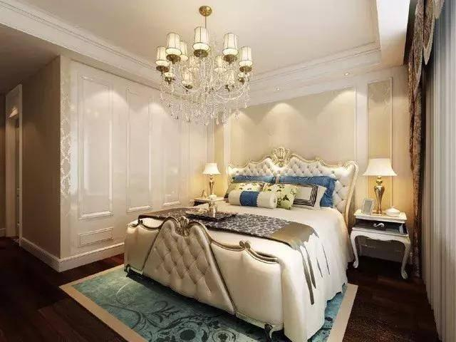 130㎡三室一厅欧式装修案例,软装搭配一流!