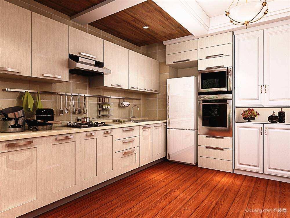 1,橱柜门板清洁和保养