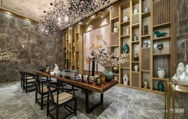 新中式别墅装饰风格特点