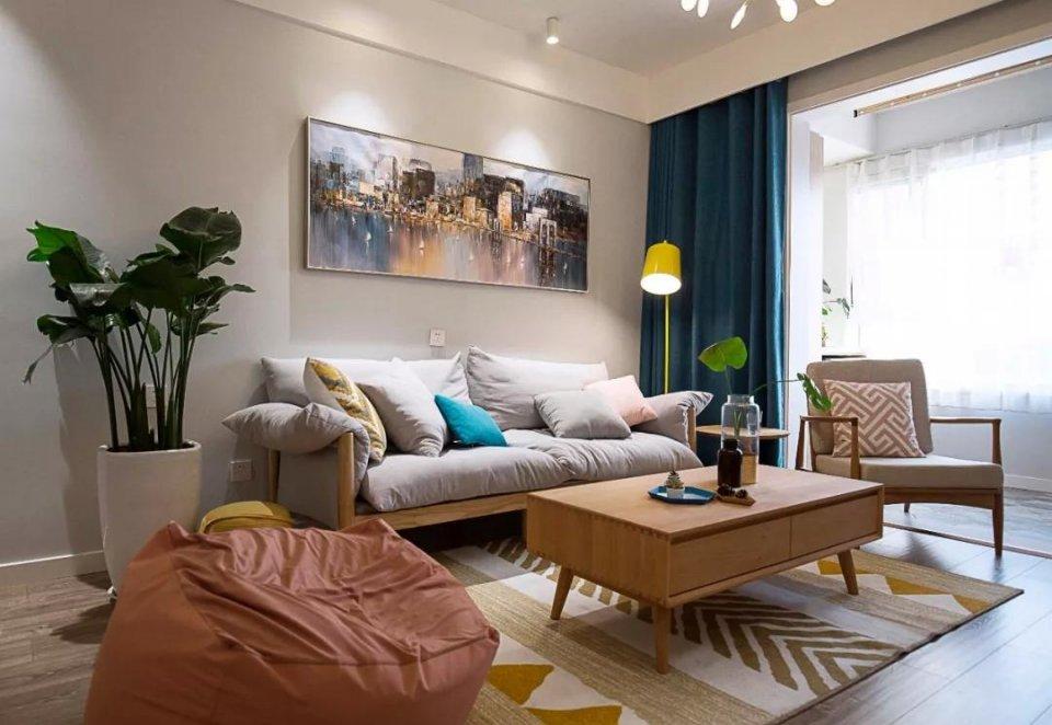 70㎡两居室北欧风装修设计 70㎡两居室北欧风装修风格