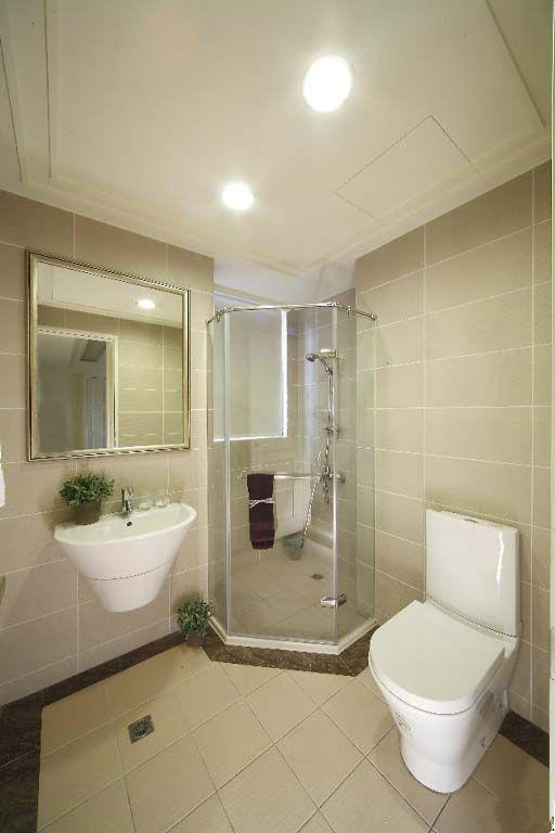 小户型卫生间的干湿分离案列