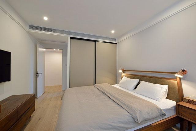 130平三房两厅,全部白墙,简单干净我喜欢