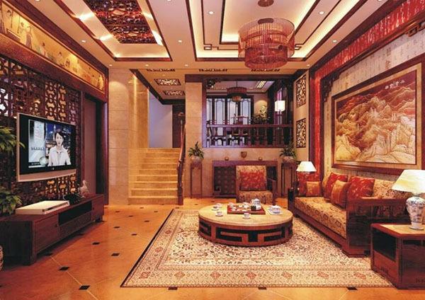 中式风格别墅装修知识简析