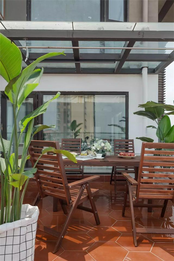 133㎡小清新风格,独立的阳光餐厅美爆了!
