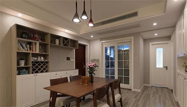 125㎡新房装修,电视背景墙是亮点,收纳简直一绝!