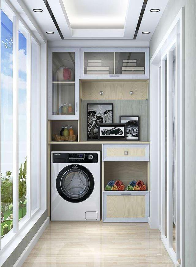 洗衣机放阳台好还是卫生间好 洗衣机放哪里最合适
