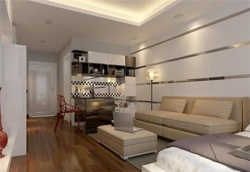 50平单身公寓装修效果图