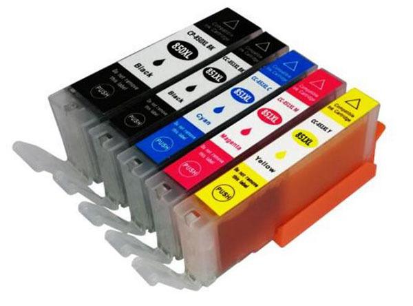 佳能打印机墨盒加墨方法