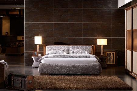 现代风格床的特点