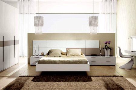 现代风格床的搭配技巧