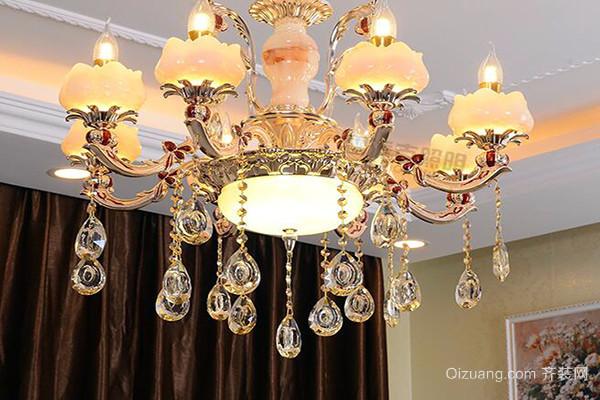 客厅吊灯风水布置