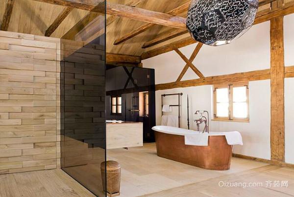 可以有效保持原木花纹,由此做成的吊顶简洁典雅,线条流畅,使得居室
