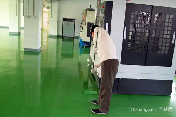 刷地坪漆优势