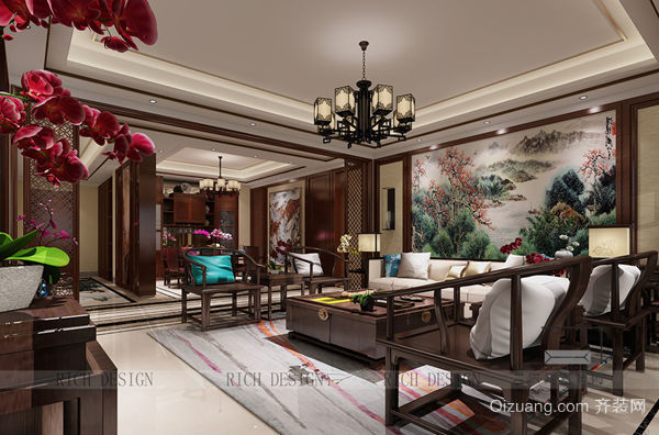 中式风格别墅装饰
