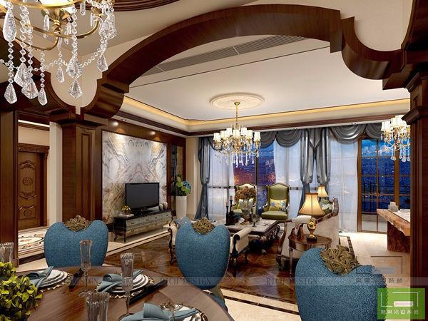 美式风格别墅装饰